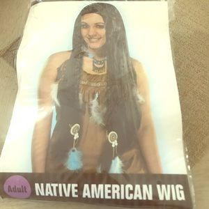 COSTUME- Native American wig-